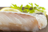 Fillet of cod — Stock Photo