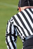 Football referee — Stock Photo