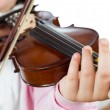 Girl playing violin — Stock Photo #41052447