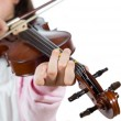 Girl playing violin — Stock Photo #41052711