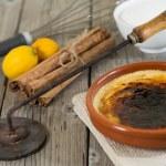 Catalan cream — Stock Photo