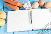 Cookbook Mutfak — Stok fotoğraf