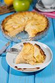 яблочный пирог — Стоковое фото