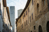 Typical Village of San Gimignano — Stock Photo