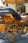 Wooden wagon — Stock Photo