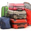 Luggage consisting of large suitcases rucksack and travel bag — Stock Photo #20692759