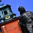 Medieval cathedral of Gniezno, Greater Poland, Poland — Stock Photo