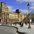 Louvre Museum in Paris, France — Stock Photo