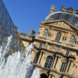 Stock Photo: Louvre Museum in Paris, France