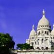 Basilica Sacre Coeur (Sacred Heart) Montmartre in Paris — Stock Photo #33697757