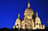 Basilica Sacre Coeur (Sacred Heart) Montmartre in Paris — Stock Photo