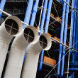 Centre Georges Pompidou in Paris — Stock Photo