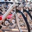 Public bicycle transportation system — Stock Photo #34848931