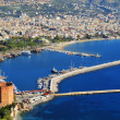 View of Alanyharbor form Alanypeninsula. Turkish Riviera — Stock Photo #35132047