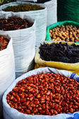 Food products on the street market in arabic city — Stock fotografie