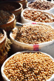 Food products on the street market in arabic country — 图库照片