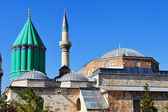 Mevlana Museum in Konya Central Anatolia, Turkey. — Stock Photo