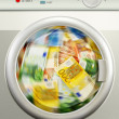 Money laundering. Euro Europecurrency — Stock Photo #35971411
