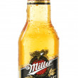 Постер, плакат: Bottle of Miller Genuine Draft beer isolated on white
