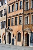 Architecture of Old Town in Warsaw, Poland — Stock Photo