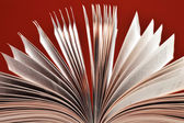 Composição com o livro na mesa — Foto Stock