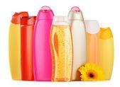 ボディ ケア化粧品のプラスチックびん — ストック写真