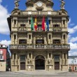 Pamplona city hall, Navarra, Spain — Stock Photo