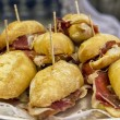 Typical Pintxo, Ham — Stock Photo #12473241