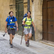 Stock Photo: Santiago pilgrims