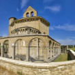 Monastery of Santa Maria de Eunate - Stockfoto