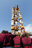 Castellers — Stock Photo