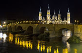 Catedral Basilica de Nuestra Se�ora del Pilar, Zaragoza Spain — Stock Photo