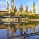 Catedral Basilica de Nuestra Se�ora del Pilar, Zaragoza Spain — Stock Photo #13256529