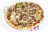 Barbecue Chicken Pizza — Stock Photo