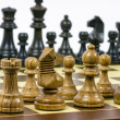 Set of chess figures - Stock Photo