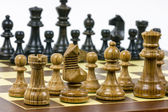 Set of chess figures — Stock Photo