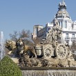 Cibeles Fountain in Madrid — Stock Photo #14143145