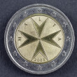 Two Euro coin from Republic of Malta — Stock Photo #14143230