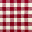 Checkered tablecloth — Stock Photo #14237501