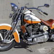 Stock Photo: Harley Davidson customized