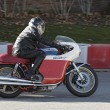 Moto Augusta Mv Montjuic Revival 2012 — Stock Photo