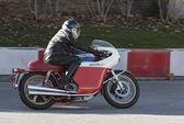 Moto Augusta Mv Montjuic Revival 2012 — Stock Photo