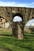 Roman bridge in Vic — Stock Photo