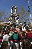 Castellers Sant Cugat 2013 — Stock Photo