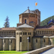 Ripoll monastery cimborio — Stock Photo