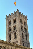 Ripoll monastery south Tower — Stock Photo