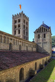 Ripoll monastery bell tower — Stock Photo
