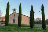 Church of sant antoni de codines centelles — Stock Photo