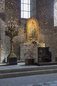Ripoll monastery high altar — Stock Photo
