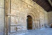 Fachada original del monasterio de ripoll — Foto de Stock